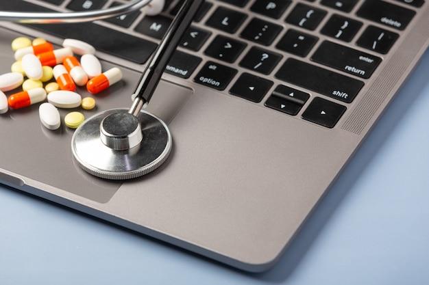 Prescrição de medicamentos para medicamentos de tratamento.