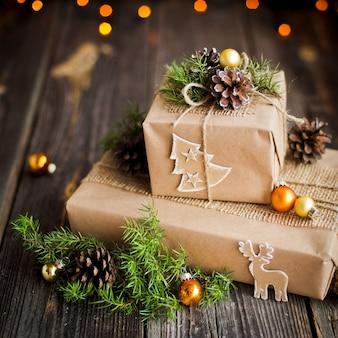 Presente artesanal para o natal