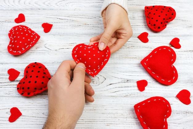Presente de dia dos namorados na decoração do feriado