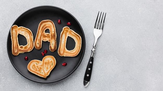 Presente do café da manhã do dia dos pais