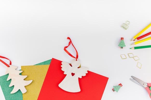 Presentes de decoração de ano novo ou natal diy