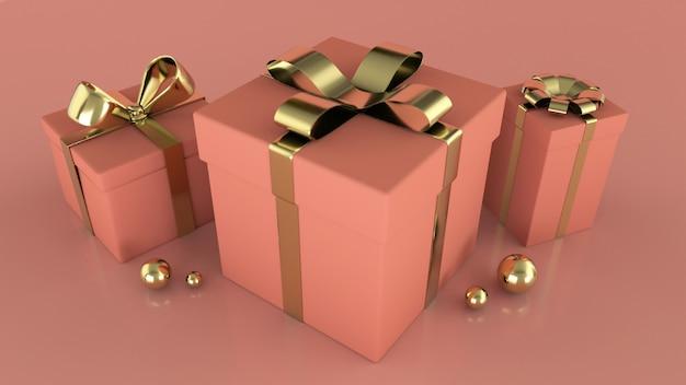 Presentes de luxo rosa