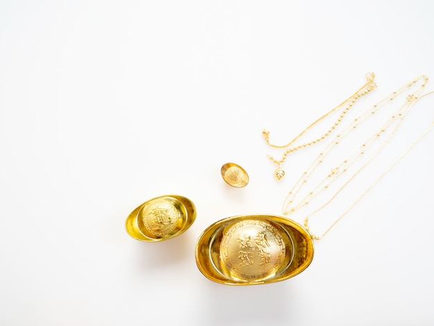 Presentes no ano novo chinês, ouro
