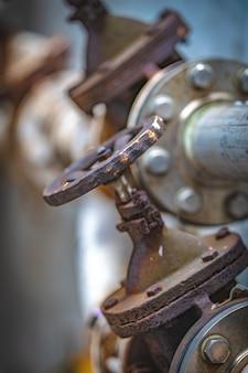 Pressão das válvulas de controle