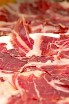 Presunto de porco ibérico