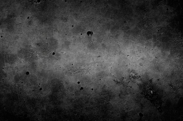 Preto com fundo cinza de concreto