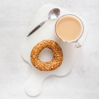 Pretzel e café