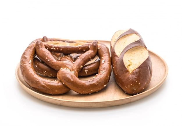 Pretzel e pão laugan