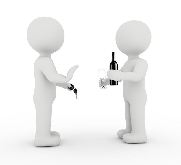 Prevenção de caráter e álcool