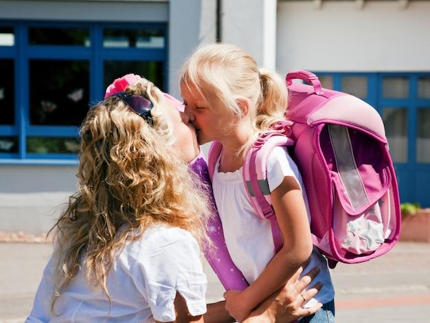 Primeiro dia na escola