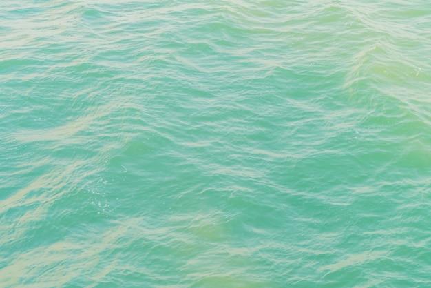 Primeiro plano do mar