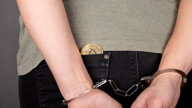 Prisão por roubo de bitcoins, roubo de criptomoedas.