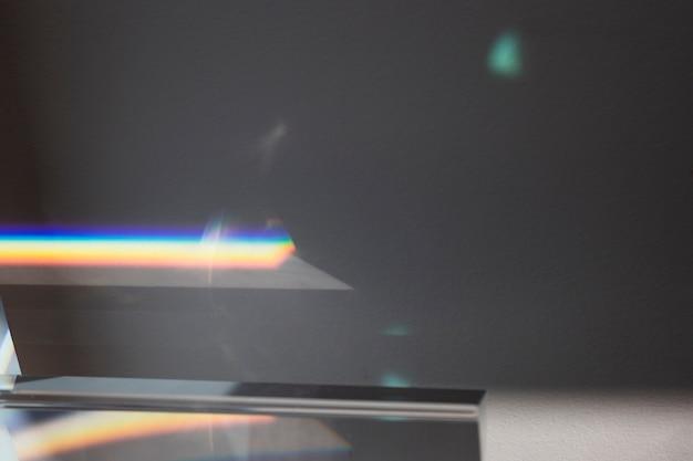 Prisma transparente