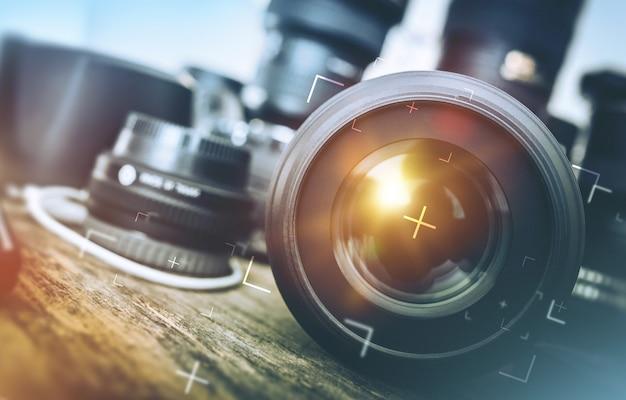Pro fotografia equipamento