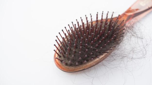 Problema de perda de cabelo