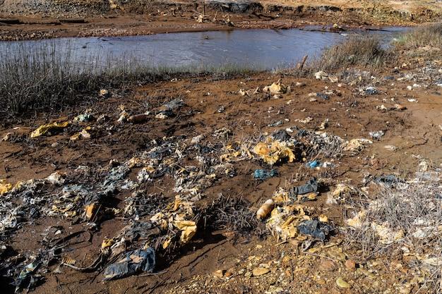 Problemas ambientais, tema da ecologia, a fumaça das chaminés