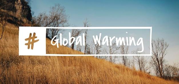 Problemas sociais de desastres naturais do aquecimento global