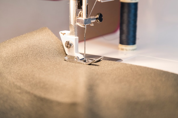 Processo de costura na fase de sobrecurso