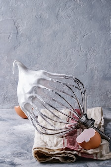 Processo de cozimento de merengue