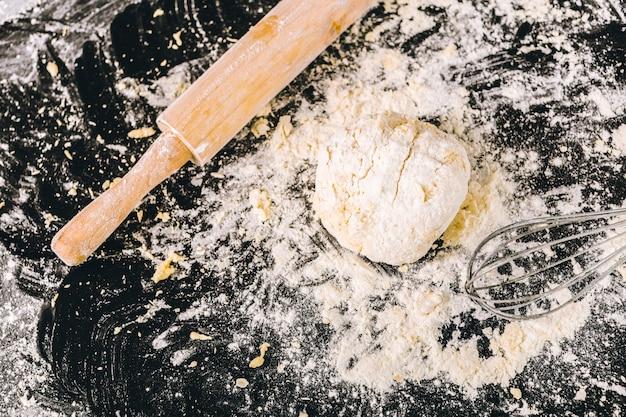 Processo de cozimento do pão