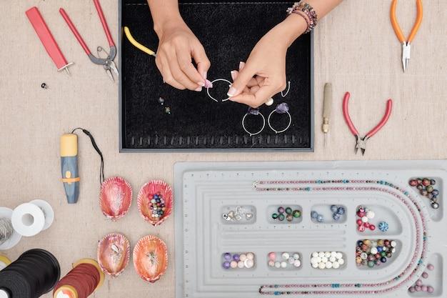 Processo de fabricação de joias