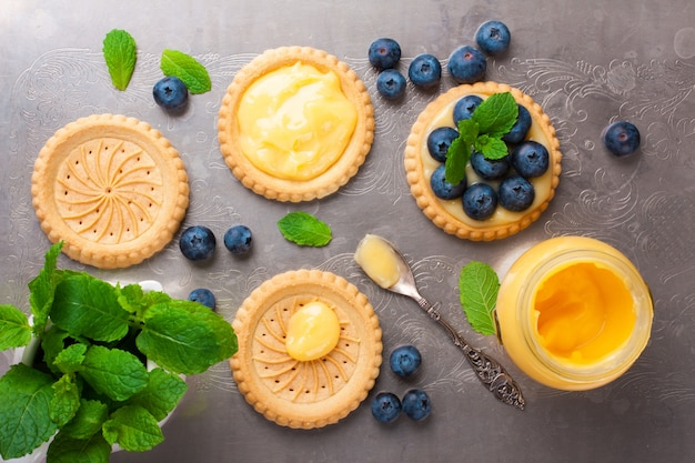 Processo de fabricação de tartlet de biscoitos