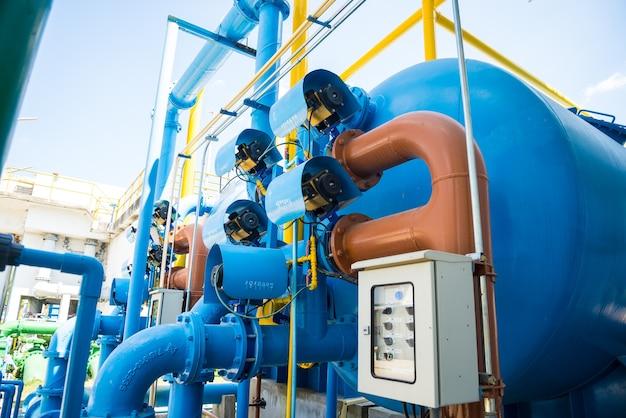 Processo de tratamento de água e estações de tratamento de água