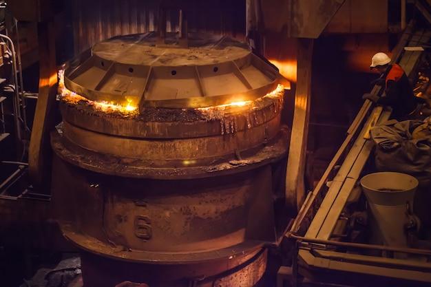 Produção de aço em fornos elétricos