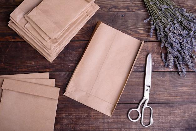 Produção de embalagens de artesanato
