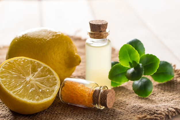 Produto para spa e aromaterapia.