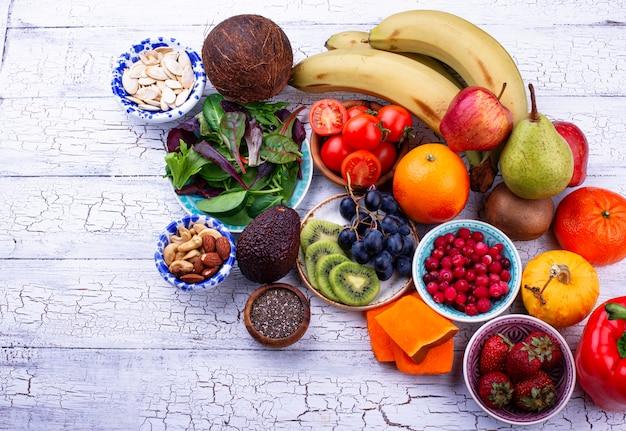 Produto saudável para dieta fruitária