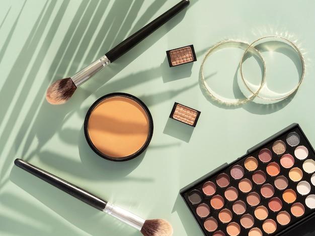 Produtos cosméticos de beleza