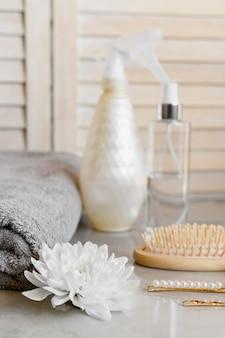Produtos cosméticos para cabelos
