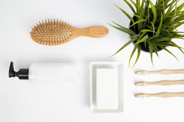 Produtos de banho ecológicos