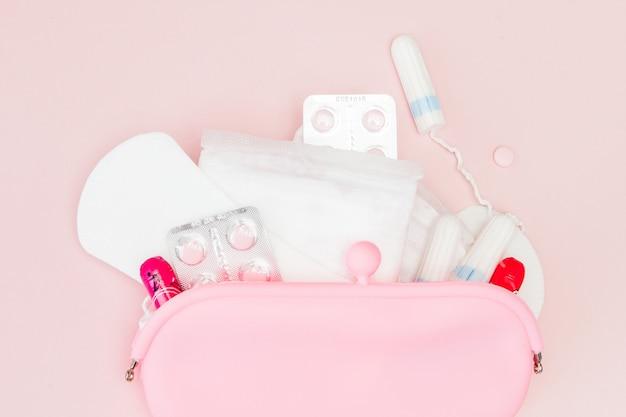 Produtos de higiene íntima para mulheres