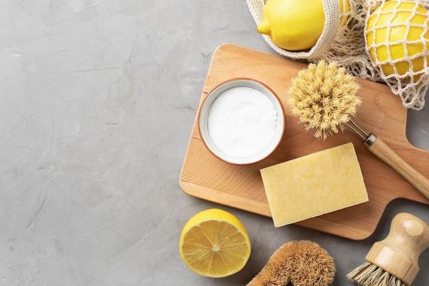 Produtos de limpeza ecológicos para cuidados com a pele