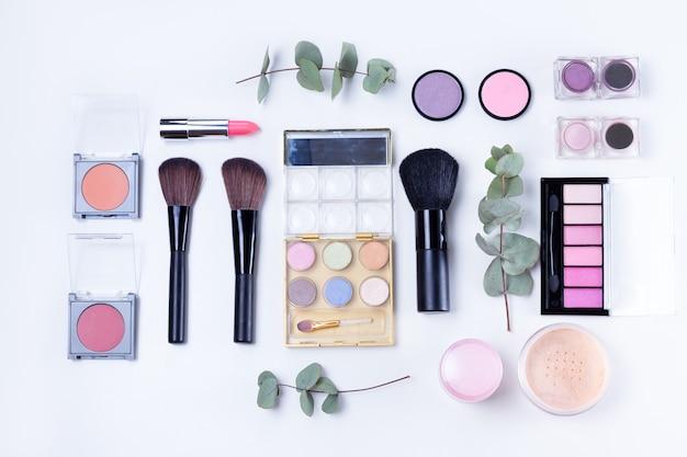 Produtos de maquiagem profissional