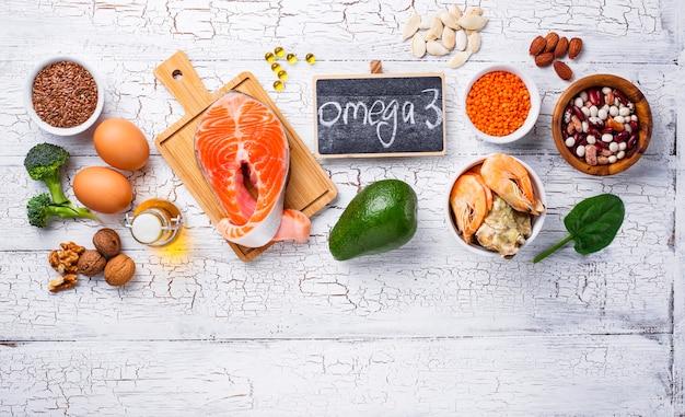 Produtos fontes de ácidos omega-3