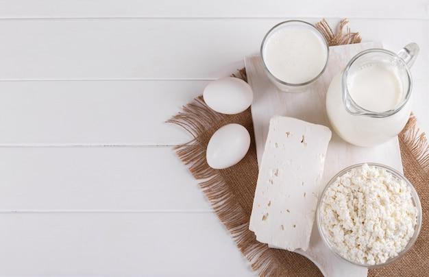Produtos lácteos feitos em casa
