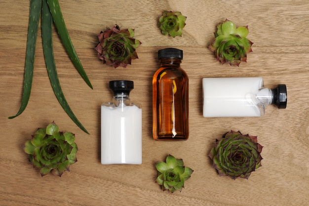 Produtos naturais para cuidados com o corpo