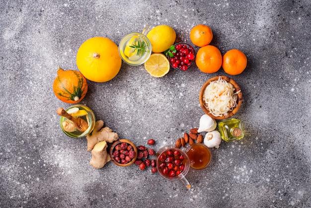 Produtos saudáveis para aumentar a imunidade