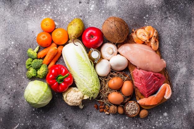 Produtos saudáveis para dieta paleo
