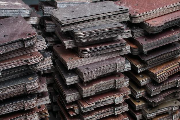 Produtos semi-acabados para máquinas