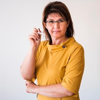 Professora de retrato