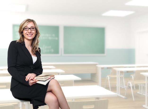Professora jovem