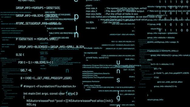 Programação e codificação visionária de software futuro