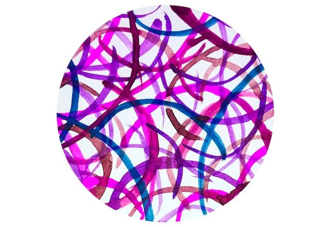 Projeto abstrato da aguarela com estilizado como o fundo.