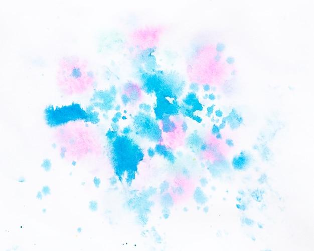 Projeto abstrato de respingo aquarela
