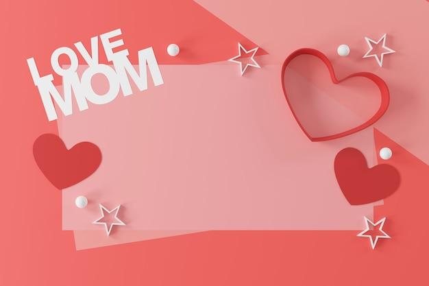 Projeto da bandeira do dia das mães feliz.
