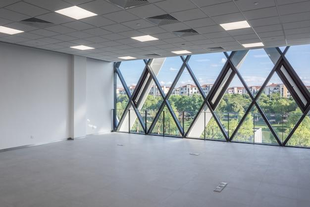 Projeto de arquitetura de interiores vazio moderno